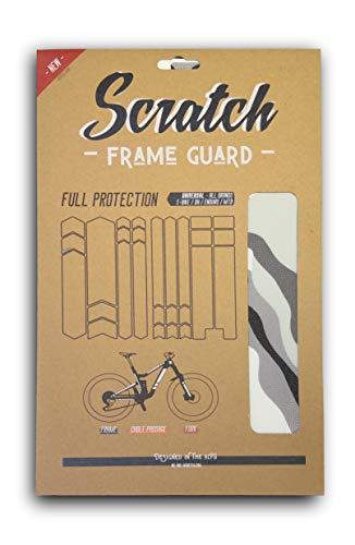 Scratch - Protector de marco completo para bicicleta de montaña