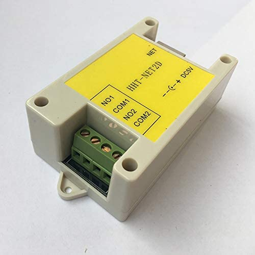 Relay Module of 2-Way Network Relay Ethernet IP Network 2-Way Remote Controller Delay Secondary Development of Smart Home