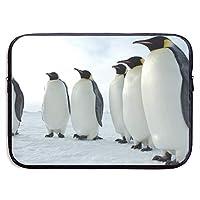 おもしろ ペンギン PCケース ノートパソコンバッグ ラップトップ用 保護ケース 耐衝撃 撥水加工 軽量 ビジネスバッグ ハンドルバッグ ブリーフケース タブレット ケース スリーブ 13-15インチ