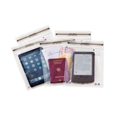 Noaks Bag | Schutzhülle, ZIP-Beutel, Dry-Bag | Größe M – 5 Stück | 100 %...
