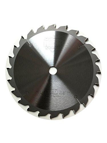 jjw de Alemania HM–Hoja de sierra circular Katarina 205x 18Z = 24WZ negativo para tronzadora y sierras de inglete, 1pieza, 4250980600790