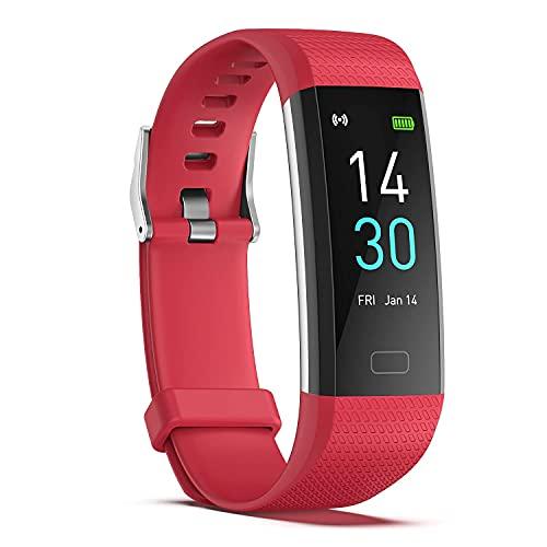 XYJ Kailangde Smart Watch Rastreador de Fitness con Ritmo cardíaco Monitor de presión Arterial Reloj Impermeable con Monitor de sueño Calorie Step Counter Watch para niños Mujeres Hombres compatibles