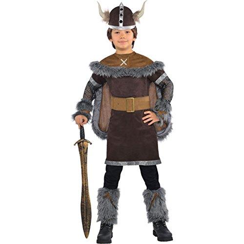 amscan – 999662 – Wikinger Kostüm – 8-10 Jahre