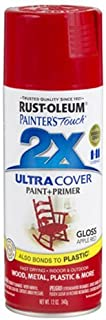 Rust-Oleum 249124 Painter's Touch Multi Purpose Spray Paint, 12-Ounce, Apple Red