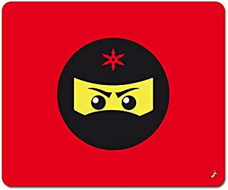 1art1 Gaming - Icono Ninja, Rojo Alfombrilla para Ratón (23 x 19cm)