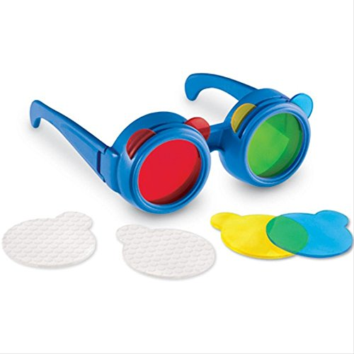 Learning Resources Color Mixing Glasses,Multi-Color, Preschool Science, Science Toys for Toddler, Ages 3+