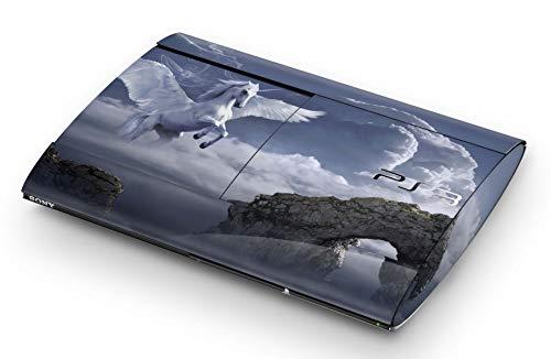 Skins4u Aufkleber Design Schutzfolie Vinyl Skin kompatibel mit Sony PS3 Playstation 3 Super Slim Pegasus