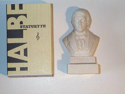 Robert Schumann Figurine buste 12,7 cm de haut