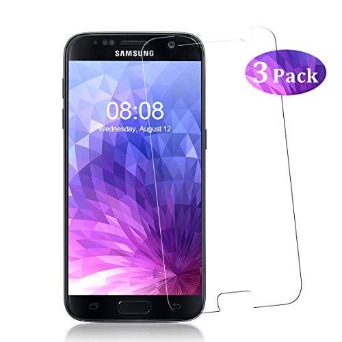 YIEASY [3 Stück] Panzerglas für Samsung Galaxy S7 Schutzfolie, 9H Härte Glas Folie Anti-Öl Bubble-frei [Ultra-dünn] [Anti-Kratzen] [Anti-Fingerabdruck] Displayschutzfolie für Samsung Galaxy S7