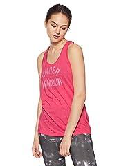 Under Armour Camiseta de Tirantes Rojo para Mujer - 1309594-963