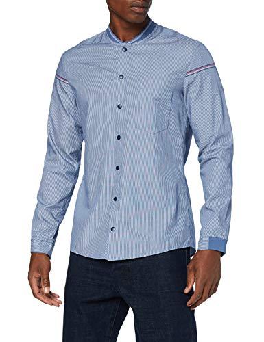 BOSS Herren BELINDAS_S Hemd, Navy, L
