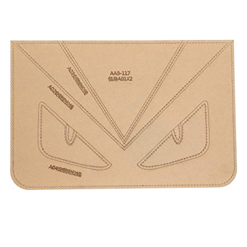 Acrylic Templates For Bags, Acrylic Version Template, Clear General Purpose for Wallet Short Wallet Handbag