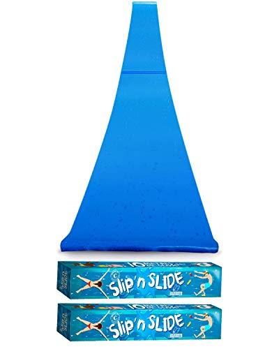 Double Ventriglisse Géant XXXXL Officiel 20 Mètres   Maxi Tapis de Glisse Qualité Premium   Slip'n Slide   Jeu Eau Plein Air   + Epais   + Rigide   + Rapide   100% Fun   House Party   OriginalCup®