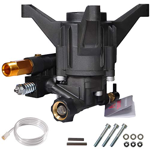 YAMATIC Max 3100 PSI NEW Pressure Washer Pump 2.5 GPM Rear Outlet Vertical 7/8