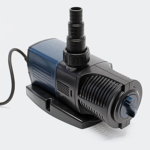 SunSun JTP-12000 SuperECO Teichpumpe mit 12000l/h 100W für Teiche und Bachläufe