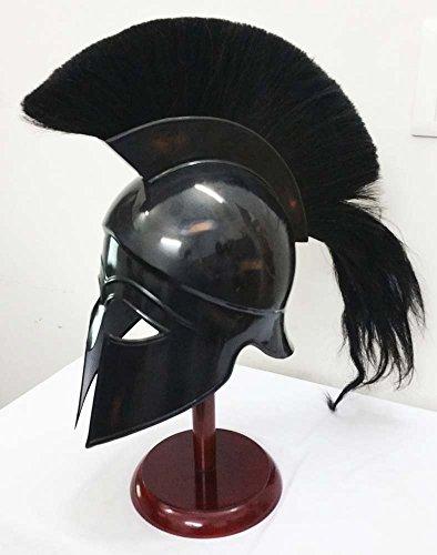 Griechisch Korinthischer Helm Antiken, mittelalterlichen Armor Knight Spartan Replica Helm, inkl. Ständer
