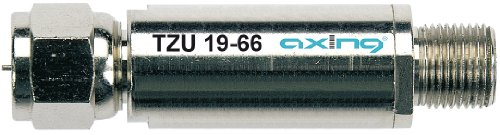 Axing TZU 19-66 Hochpassfilter, Durchlassbereich 85-2200 MHz, Sperrbereich 5-68 MHz, DC-Durchlass