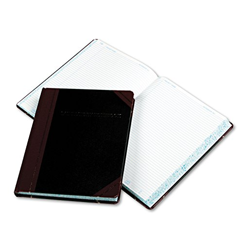 Price comparison product image Boorum & Pease L21300R Laboratory Record Book, 300 Pages, 8-1 / 8-Inch x10-3 / 8-Inch, Black / Red