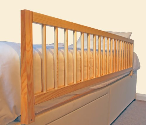 Safetots Bettgitter aus Holz, extra breit, Natur