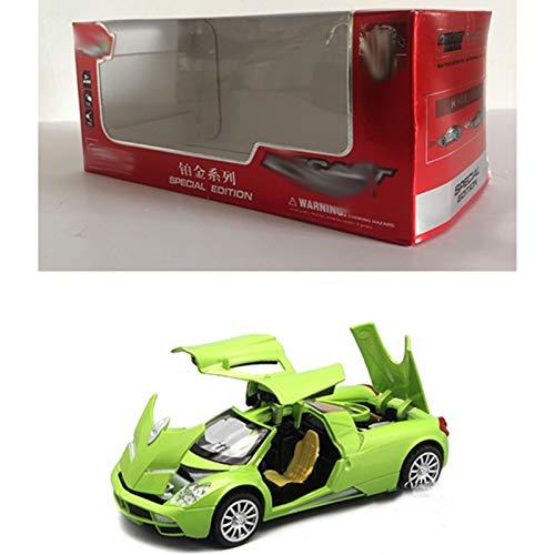 Modelo De Coche Famoso 1/32 aleación de coches de juguete Para Pagani Modelo de metal fundido a troquel del vehículo con puertas practicables de sonido encenderse tire de la colección for el regalo de