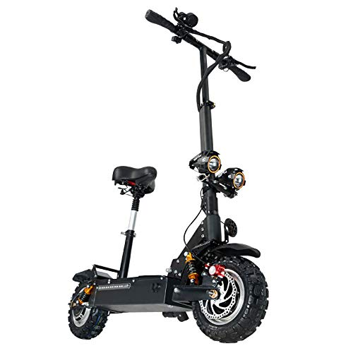 GUNAI Patinete Electrico Adulto Scooter Plegable Todoterreno