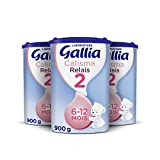 Laboratoire Gallia Calisma Relais 2, Lait en poudre pour bébé, De 6 Mois...