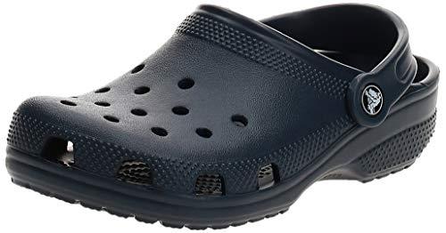 Crocs Kids' Classic Clog | Slip On Boys and Girls | Water Shoes Crib, Navy, J3