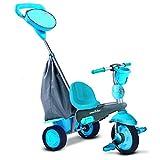 Smart Trike - Swing triciclo evolutivo para niños de 10 - 36 meses, color azul...
