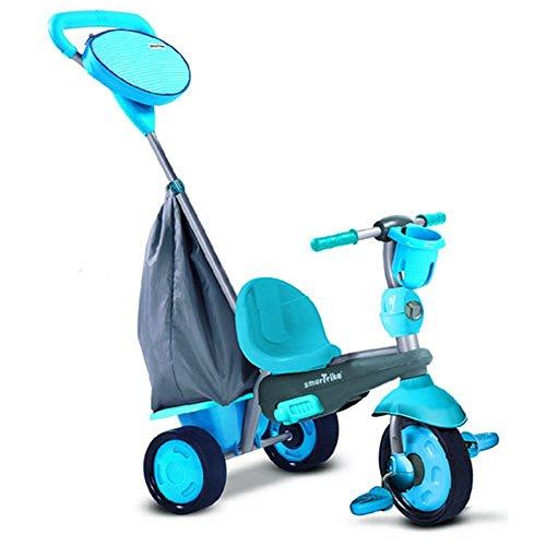 Smart Trike - Swing triciclo evolutivo para niños de 10 - 36 meses, color azul (2036500300) , color/modelo surtido