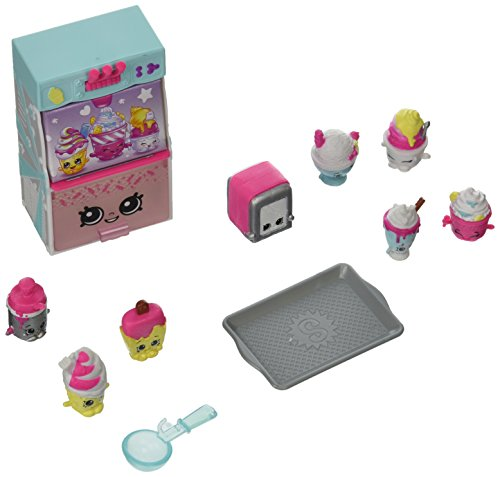 Shopkins – Food Fair – Cool & Creamy Collection – La Machine a Glaces – Figurines + Accessoires