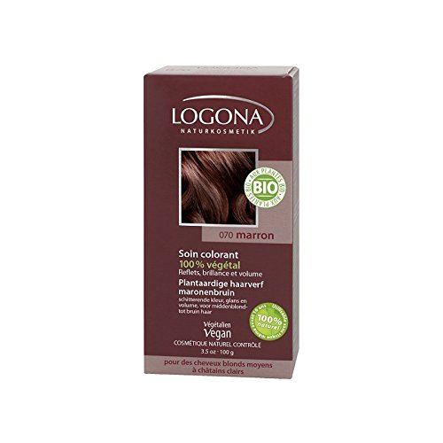 Logona - 1009mar - Soins Colorants - Marron - 100 g BIO