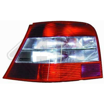 2213099 achterlichten rood zwart Golf 4 limousine type 1J 1997 tot 2003