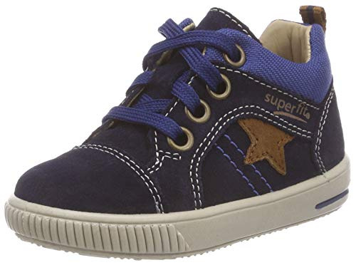 Superfit Baby Jungen Moppy Sneaker, Blau