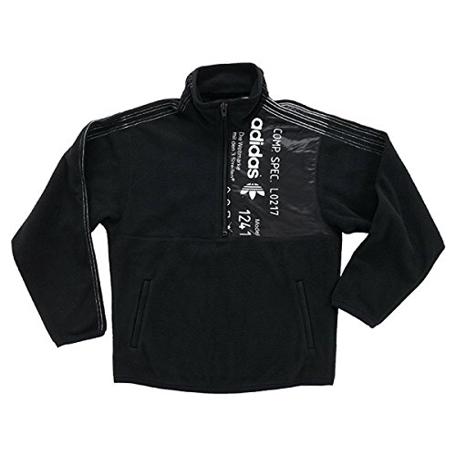 adidas by Alexander Wang Sudadera AW Polar Half Zip Sweatshirt Black (S)