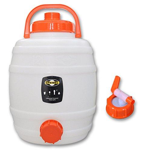 Speidel Getränkefass 12 Liter Rund + Hahn