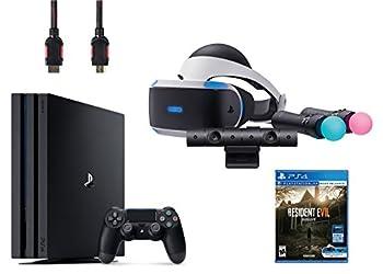 PlayStation VR Start Bundle 5 Items  VR Start Bundle,PS 4 Pro 1TB,VR game disc Resident Evil 7  Biohazard