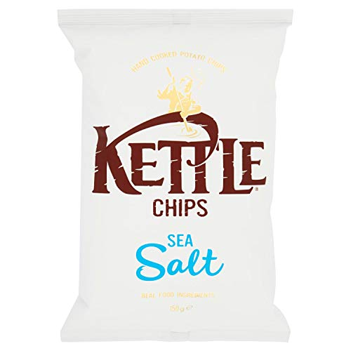 Kettle Chips Sea Salt, 150g