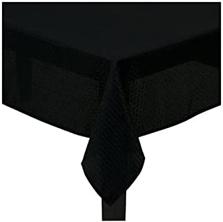 Mainstays Hyde Fabric Tablecloth, Black