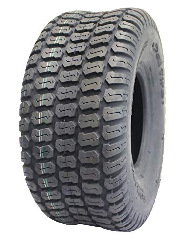 Deli Tire S-374, Turf Tread, 4 Ply, Tubeless, Lawn and Garden Tractor Tire (18x8.50-8)