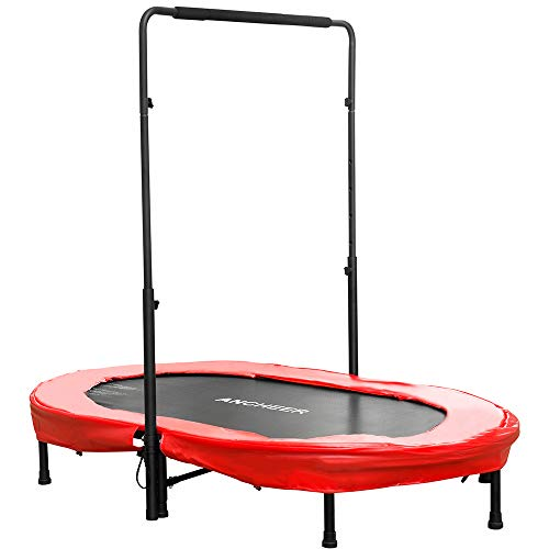 ANCHEER Rebounder Trampoline, Foldable Exercise Trampoline with...