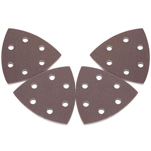Almohadillas de lijadora, disco de papel de lija, discos de lijado de 4 piezas, disco de lijado para pulidoras eléctricas neumáticas, carcasa de teléfono pulida,(1800-2000#)