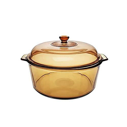 Arcoroc x Nobilta Blooming Glass Dutch Oven Casserole Cookware 6L