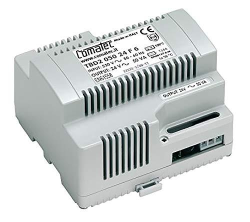 Comatec Hutschienen Trafo, Transformator, TBD2 050 24 F6, 50VA, 24Vac
