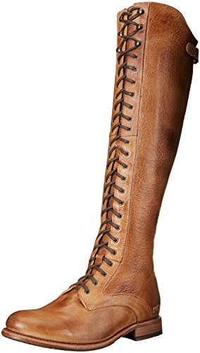 BED STU Women's Della Boot, Tan Rustic, 8.5 M US
