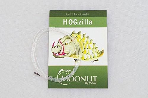HOGzilla Streamer Fly Fishing Leader- Sinking (0-3wt)