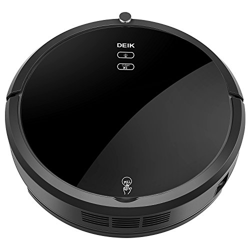 Deik Robot Vacuum Cleaner, Robotic Vacuum Cleaner with...