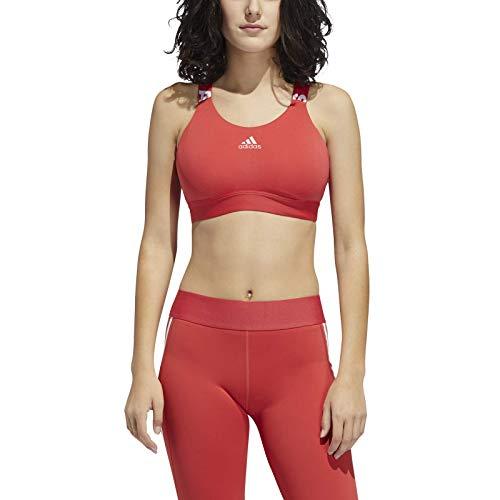 adidas Performance Don´t Rest Brand Sport-BH Damen rot, XS