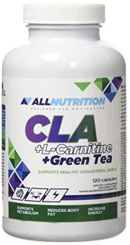 Allnutrition CLA Plus L-Carnitine Plus Green Tea, 120 caps, 1 kg
