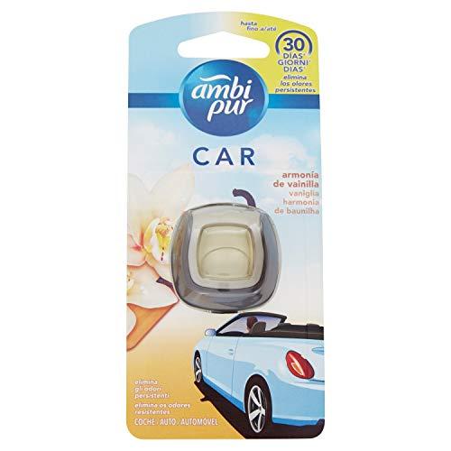 Ambi Pur Car Vanille, Lufterfrischer für Autos mit Clip