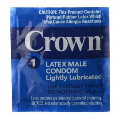 Crown Skinless Skin Condoms - Pack Size - Case of 1,000